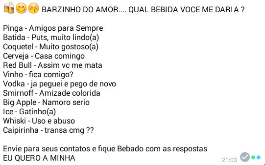 Barzinho do amor