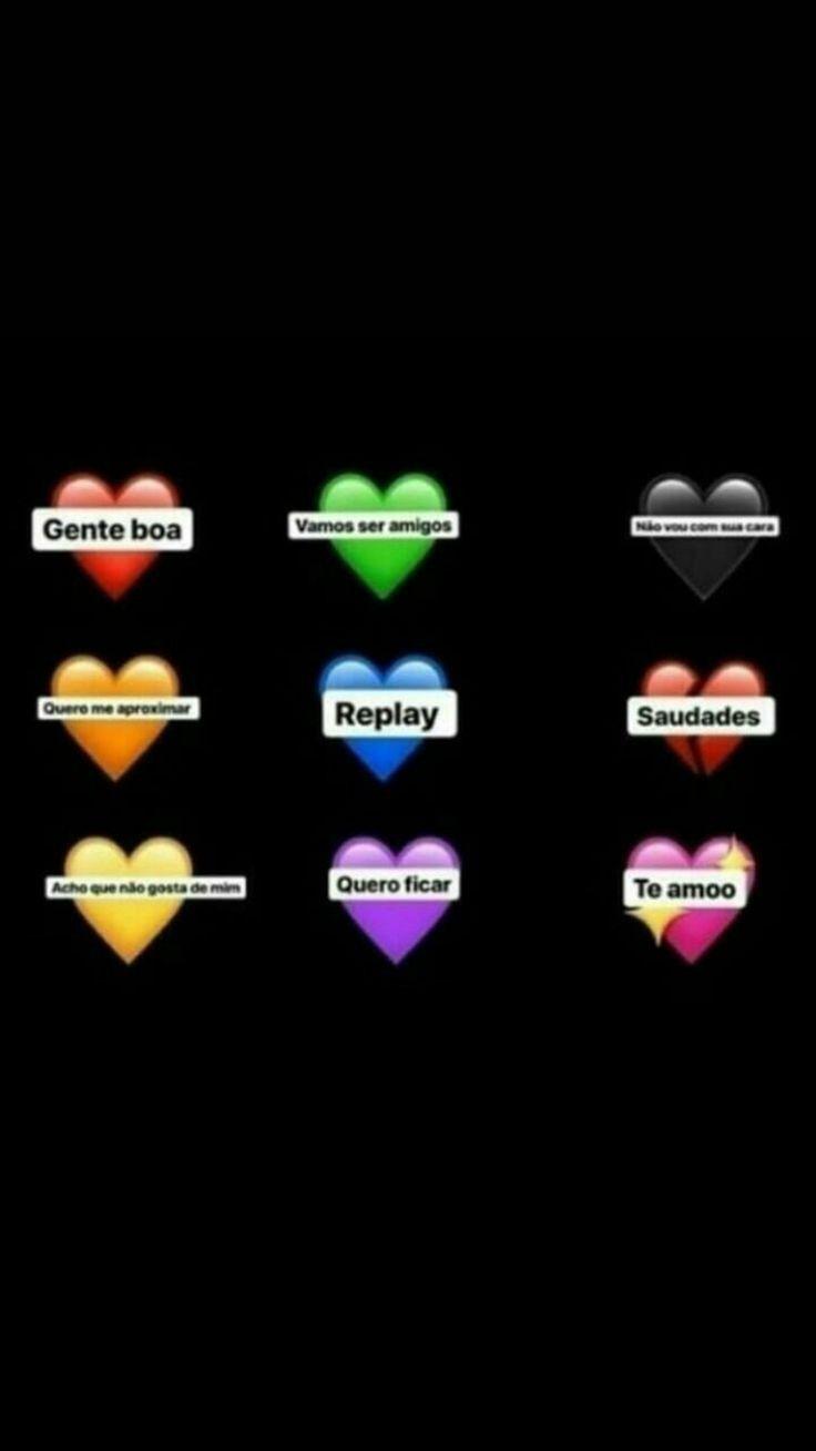 Brincadeira para status: escolha um coração. Nova brincadeira para se divertir com seus contatos