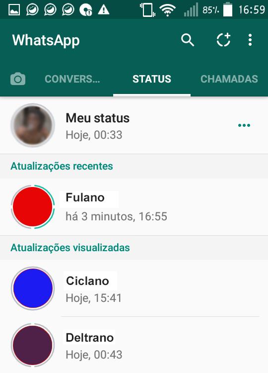 Como salvar e baixar fotos e vídeos do status do Whatsapp