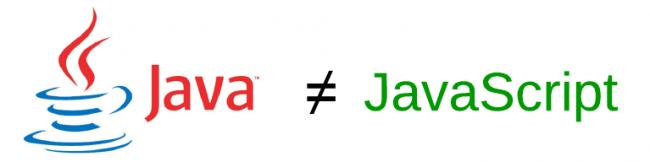 Diferenças entre Java e JavaScript. Queremos que fique claro que JavaScript não tem nada a ver com Java, salvo em suas origens..