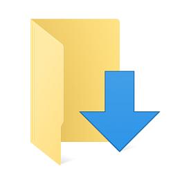 Downloads no menu iniciar. Inserindo a pasta Downloads no menu iniciar do Windows Vista.