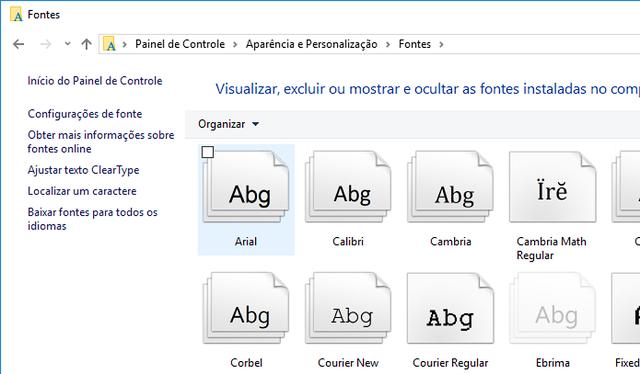 Instalando fontes no Windows. Aprenda aqui como baixar e instalar novas fontes no seu computador.