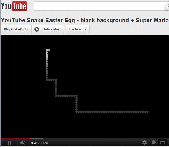 Jogar Snake no Youtube. Veja como é simples jogar o clássico jogo da cobrinha no Youtube..