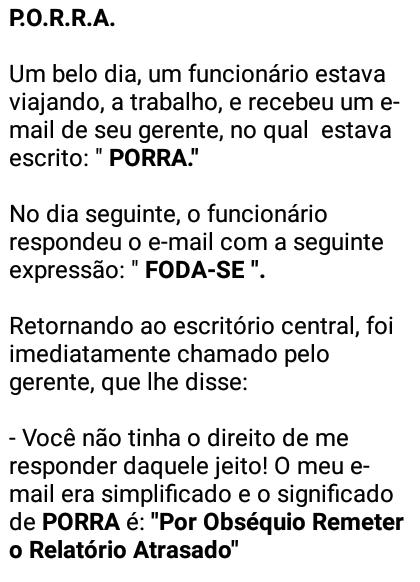 P.O.R.R.A