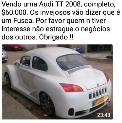 Vendendo Audi 2008
