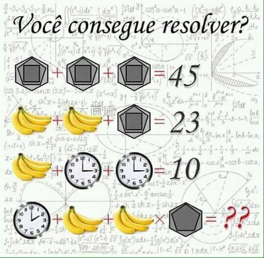 Você consegue resolver?