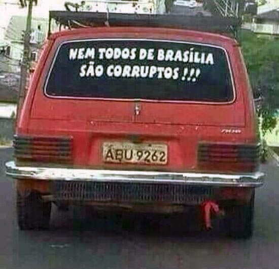 Nem todos de brasília são corruptos